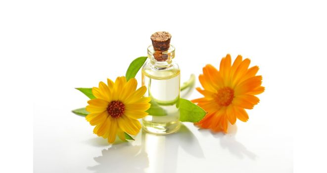 Inhalation of essential oils