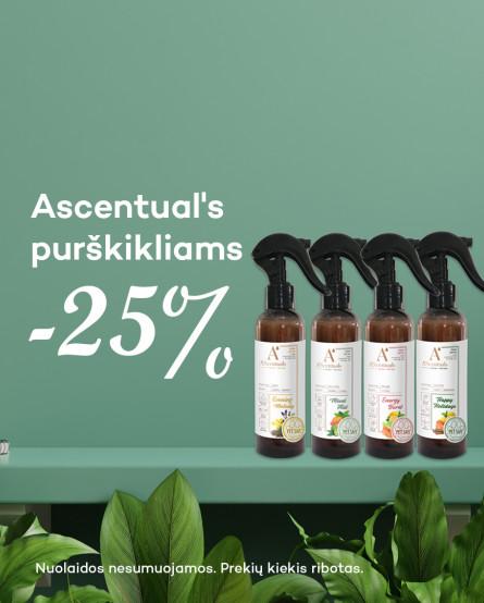 ASC Purškikliams -25%