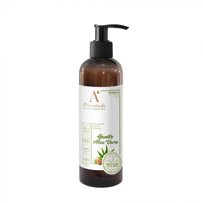 A'SCENTUALS Herbal Care Aloe Vera šampūnas