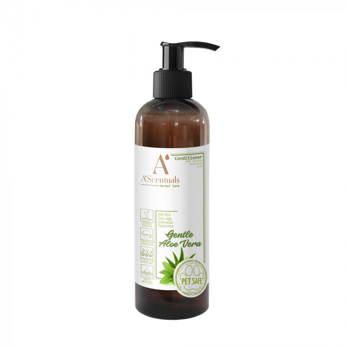 A'SCENTUALS Herbal Care Aloe Vera kondicionierius